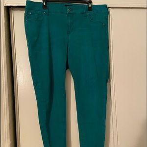 Turquoise Jeans
